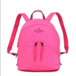 Kate Spade Karissa Nylon Lip Print Medium Backpack
